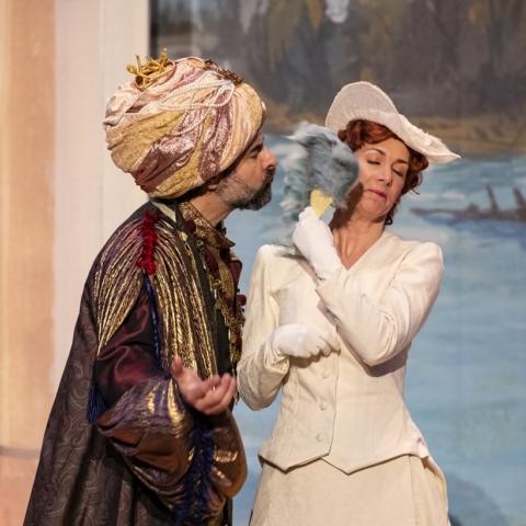 Camilla Bull, mezzo soprano, Isabella, Rossini L'Italiana in Algeri Oh che muso! Hilaire Smits
