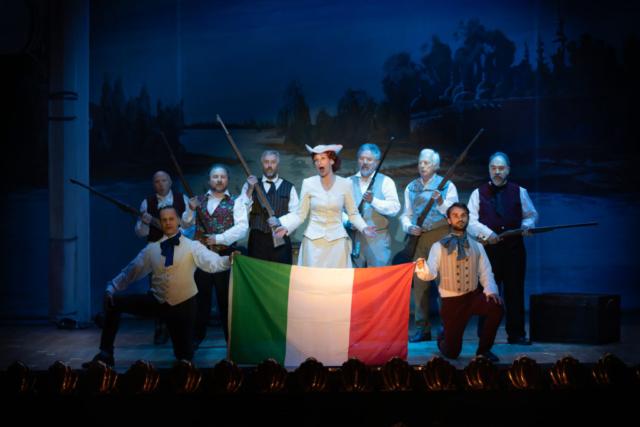 Camilla Bull, mezzo soprano, Isabella, Rossini L'Italiana in Algeri Hilaire Smits, Qual piacer
